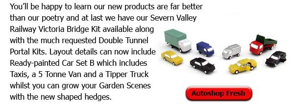 Pained Vehicles Set B