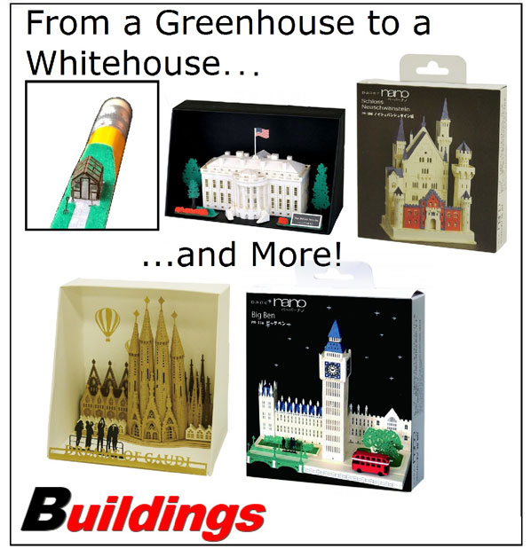 Buildings - From a Greenhouse to a Whitehouse...