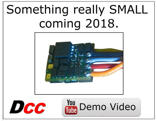 DCC - Something really SMALL coming 2018