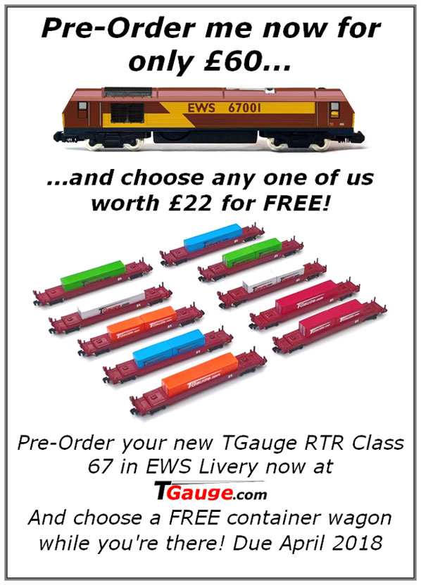 Pre-Order me now for only £60...and choose any one of us worth £22 for free!