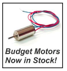 Budget Motors Now in Stock!