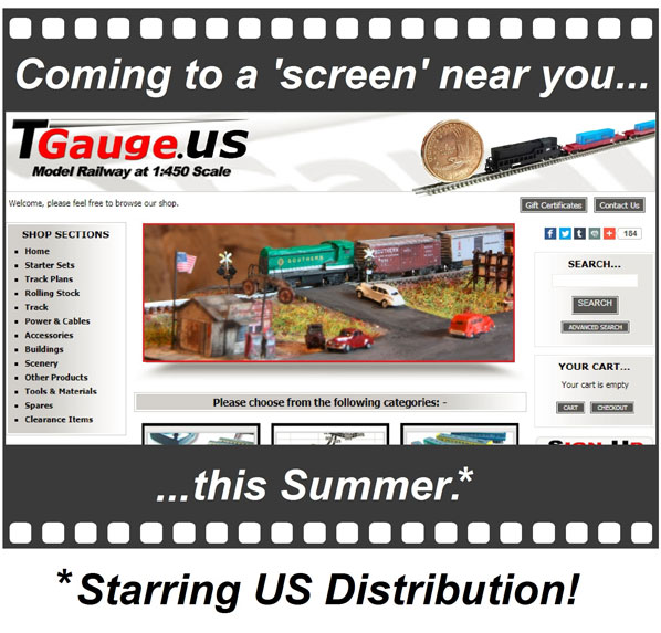 Coming to a screen near you...TGauge.us - this Summer - starring US Distribution!