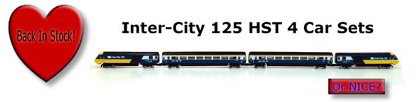 Inter-City 125 HST 4 Car Sets Back In Stock!