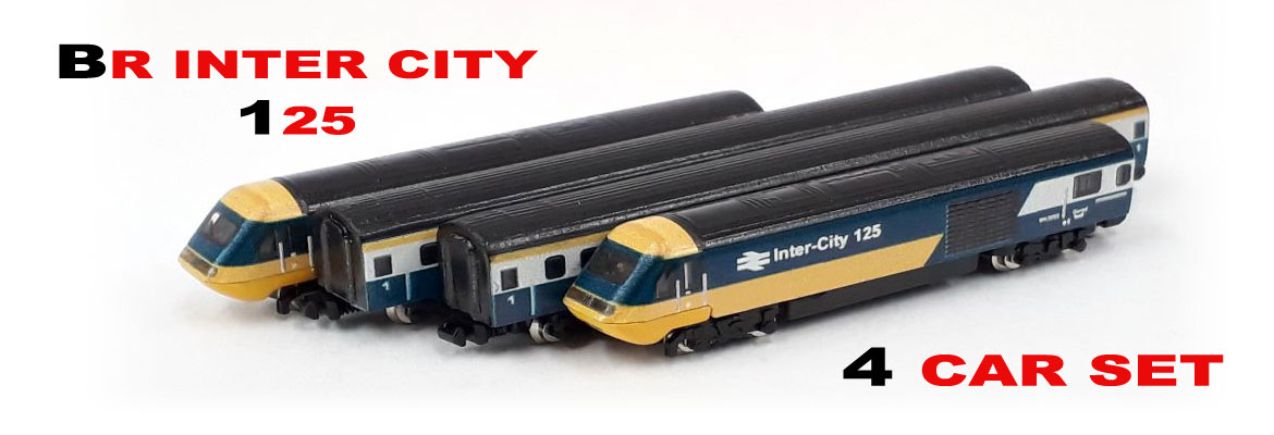 BR Inter City 125 4 Car Set