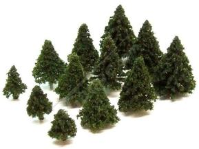 Dark Green Fir Trees