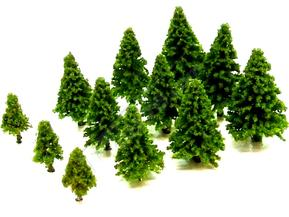 Light Green Fir Trees